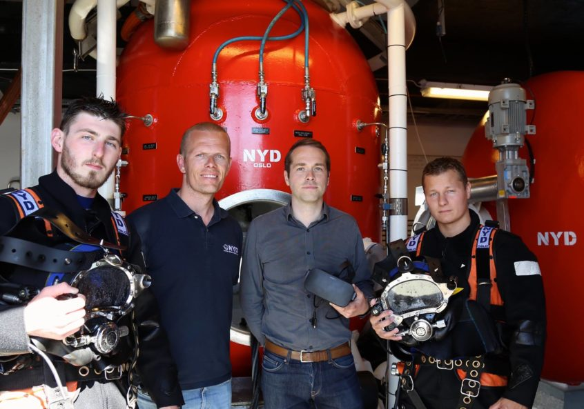 PaleBlue is a partner of Norwegian School of Commercial Diving