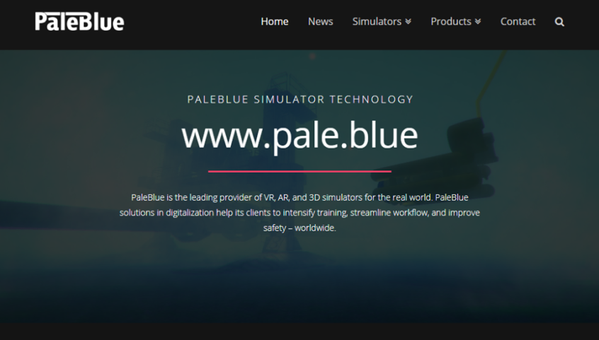 new website of PaleBlue