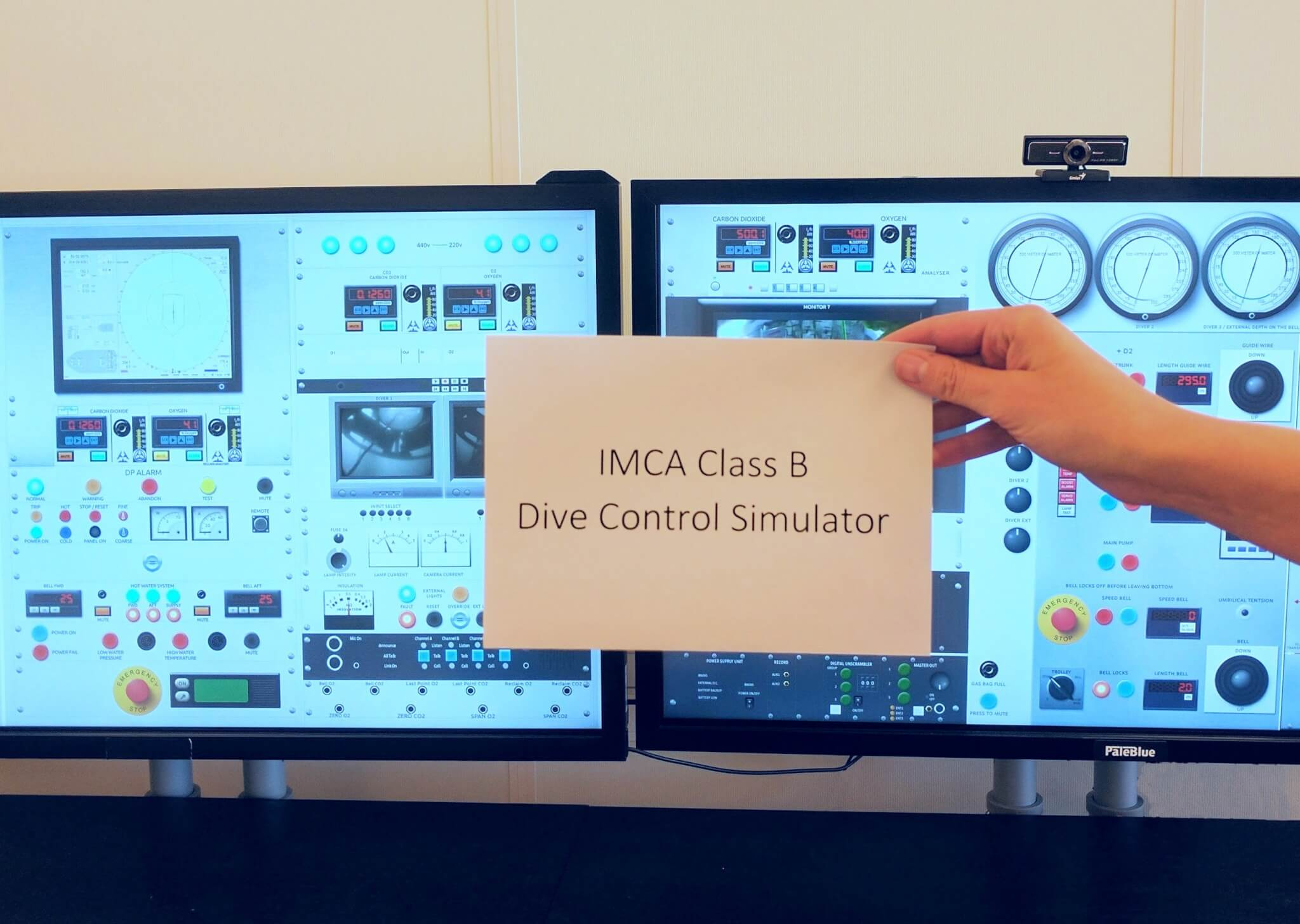 PaleBlue Simulators Recognized by IMCA