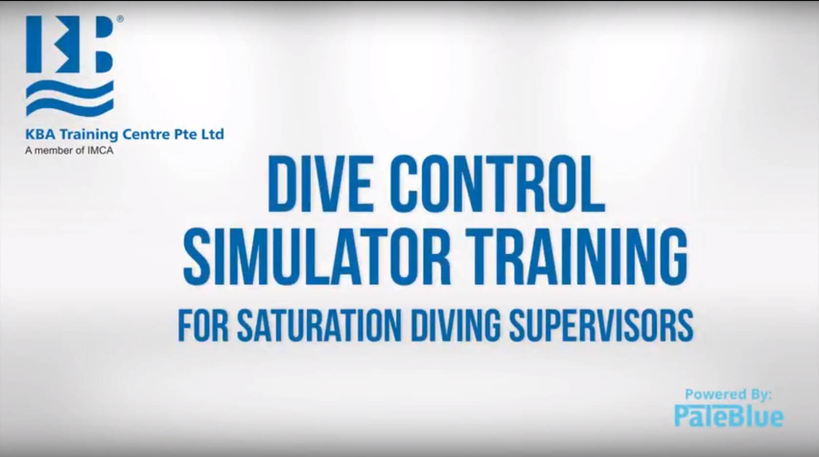 The Only IMCA-Recognized Digital Simulator for Certification in Diving