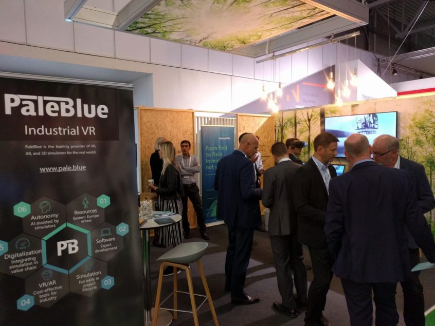 PaleBlue at ONS 2018 Conference in Stavanger