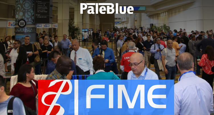 PaleBlue at FIME Expo 2018