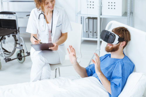 Hospitalization with VR from the Patient's View