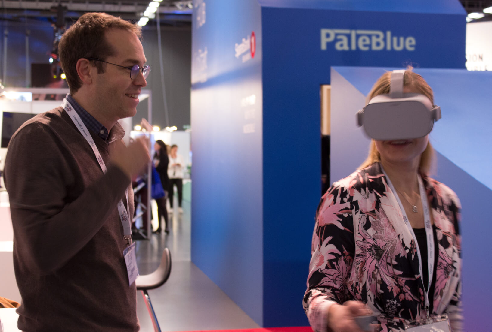 PaleBlue Launches EdTech VR Tools at Nordic Edge 2018