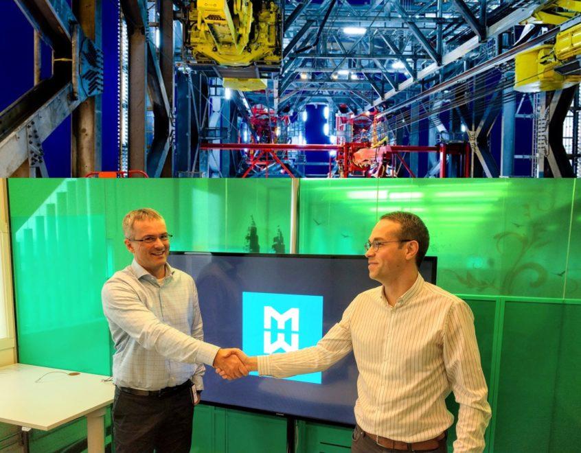 Øyvind Strømme, VP Service Products at MHWirth, and Felix Gorbatsevich, Managing Director at PaleBlue.