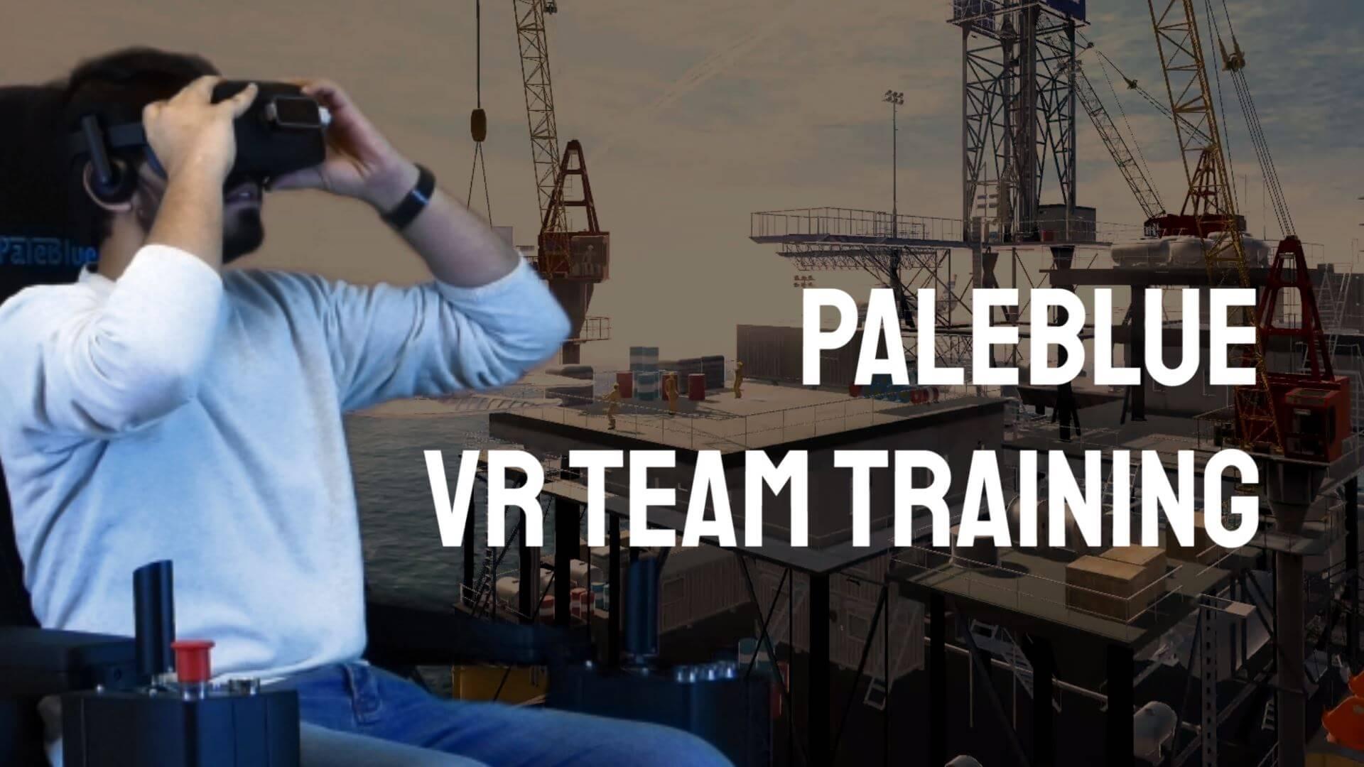 PaleBlue Launches VR Full Team Training