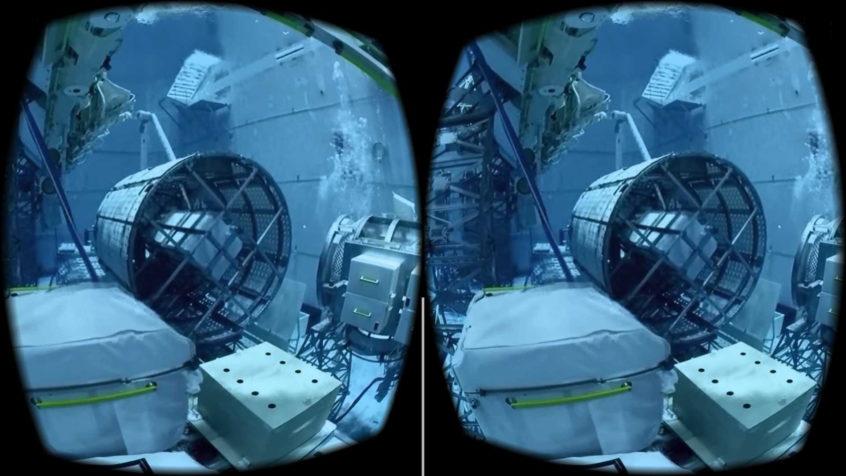 Cardboard VR screen