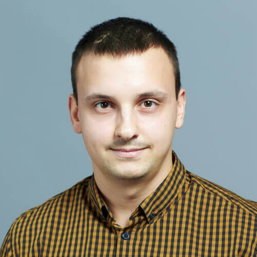 Maxim Tkachenko, Senior Software Engineer, PaleBlue