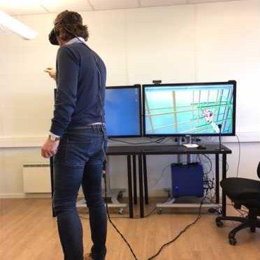 running simulation in VR