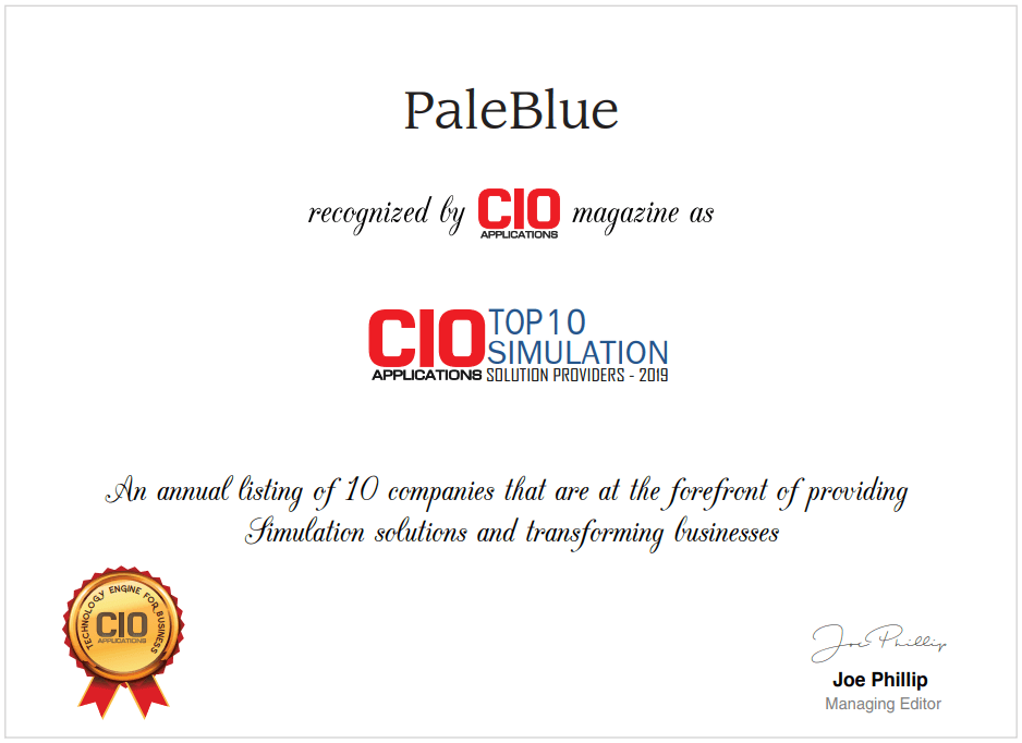PaleBlue Simulation Solution Provider
