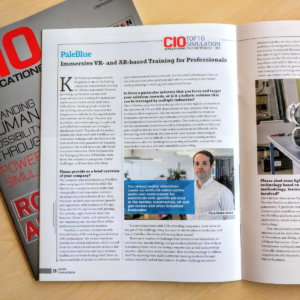 PaleBlue in the CIO Applications Magazine