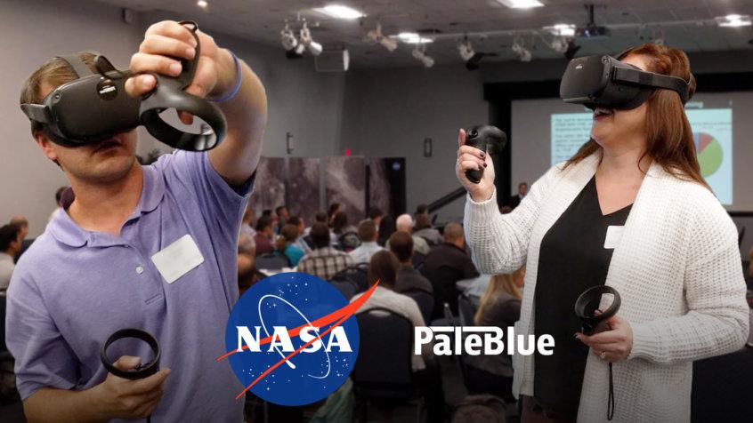 PaleBlue at NASA EVA Workshop