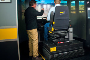 Motion platform simulator training