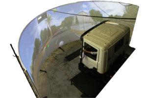 Motion platform truck usage