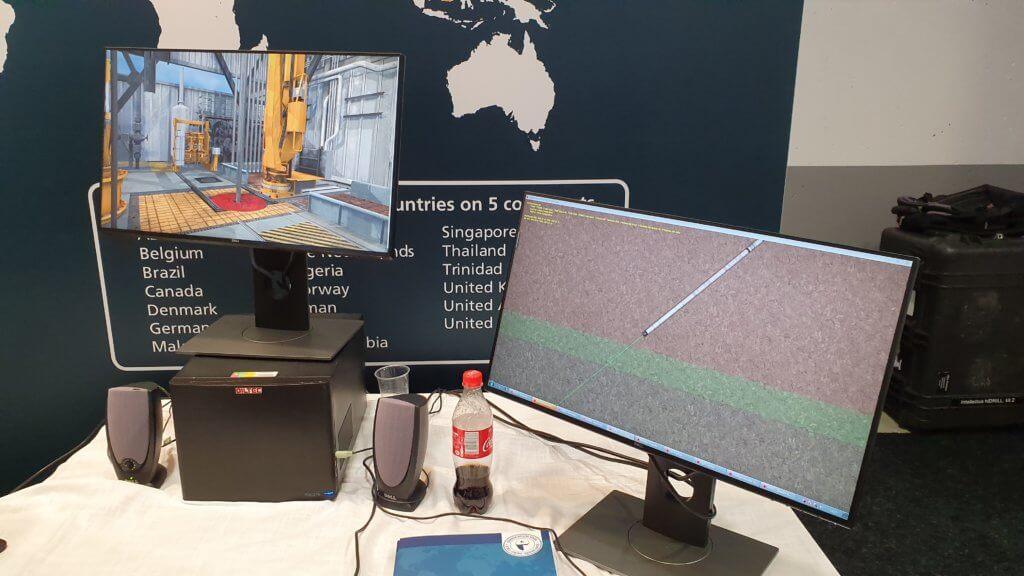 VR Downhole drilling