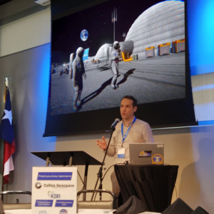 PaleBlue Presents VR for Astronauts at Space Center Houston