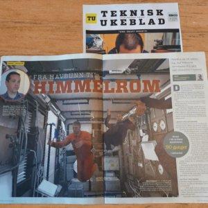 Teknisk Ukeblad Magazine Features PaleBlue