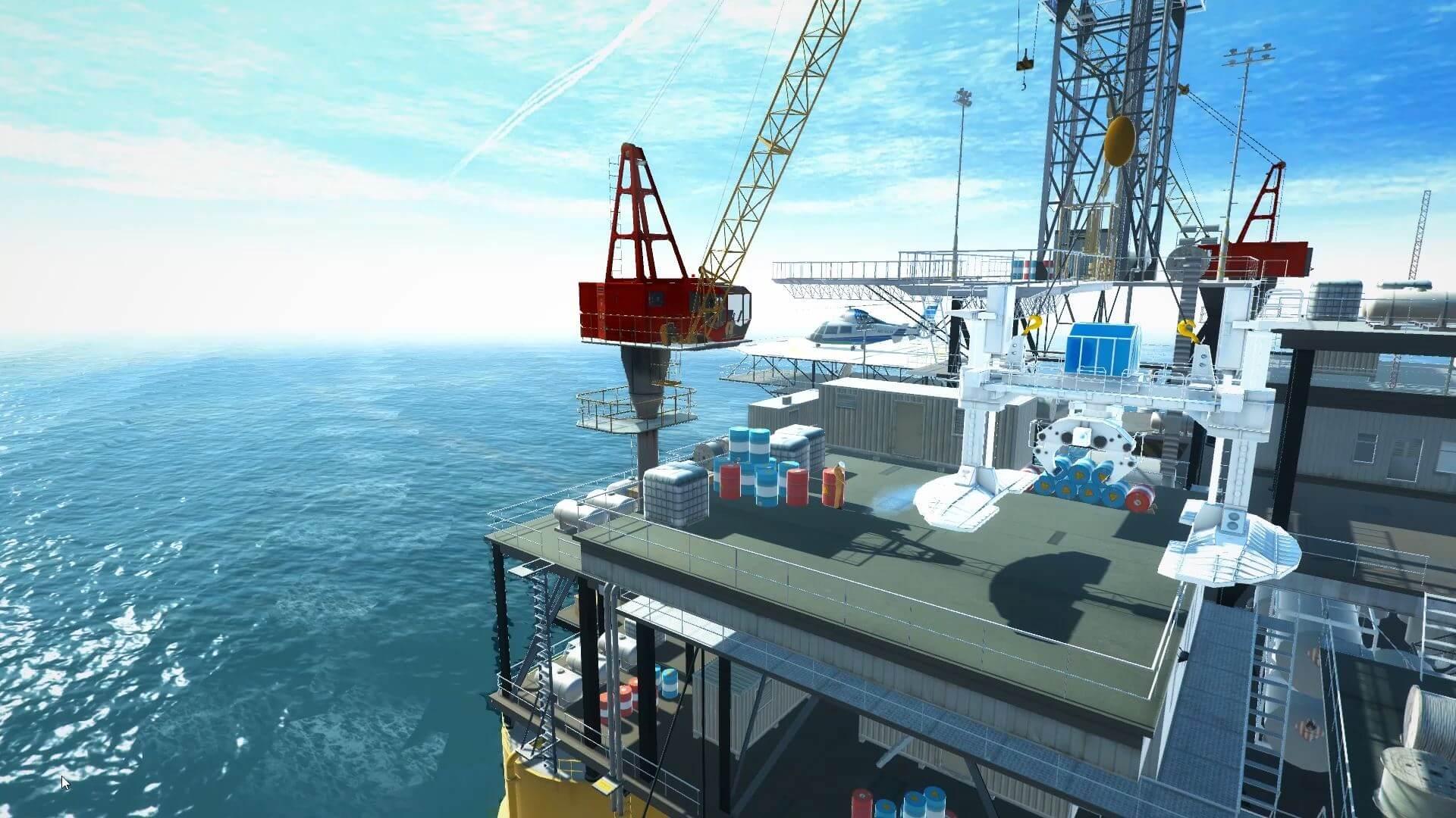 VR crane