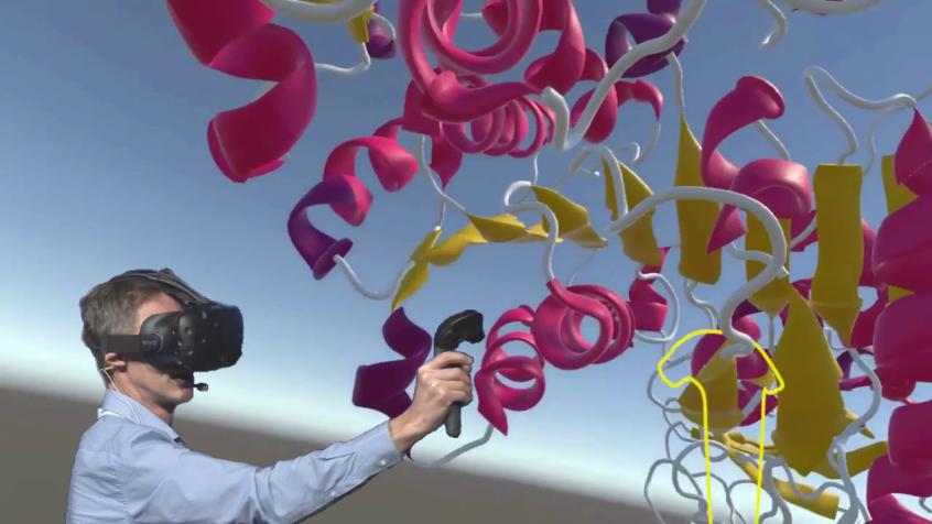 PaleBlue Molecular VR