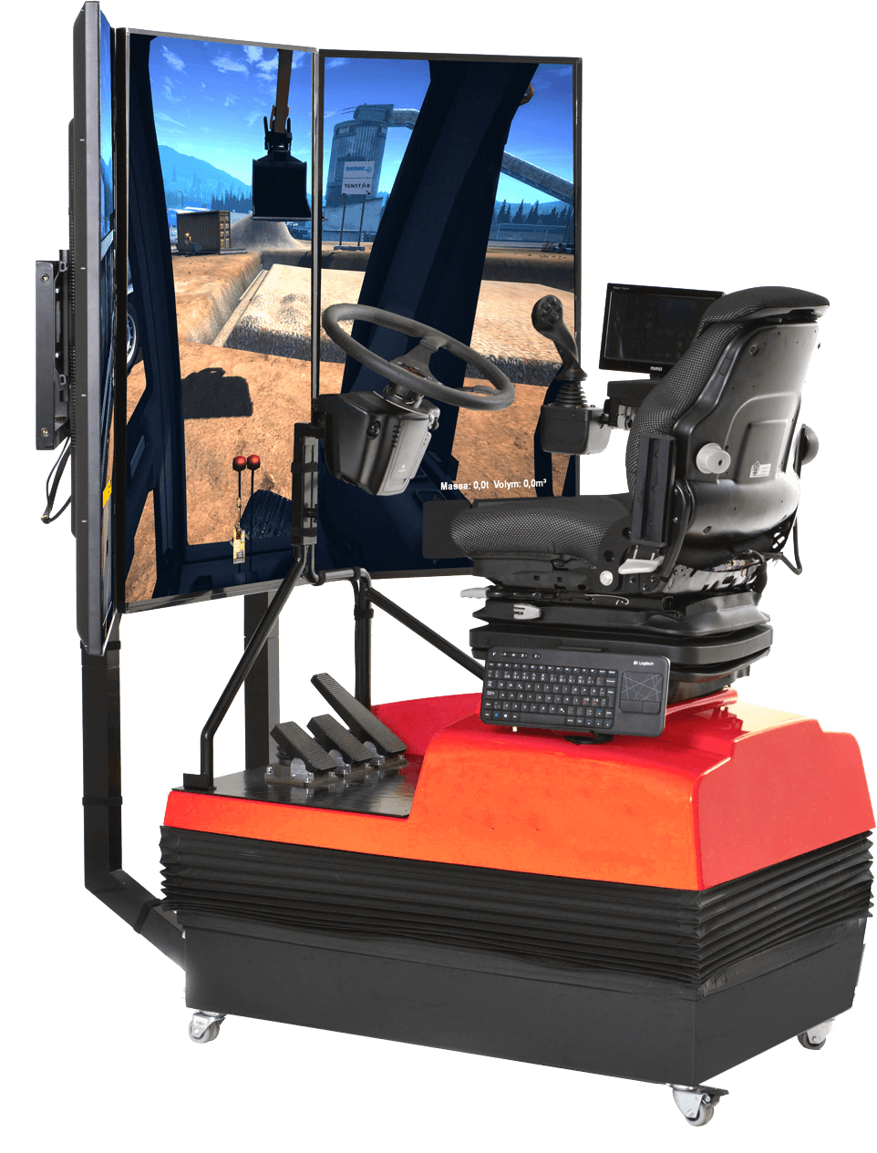Motion Platform Simulators Paleblue